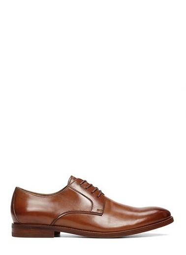 Aldo %100 Deri Bağcıklı Klasik Ayakkabı Taba